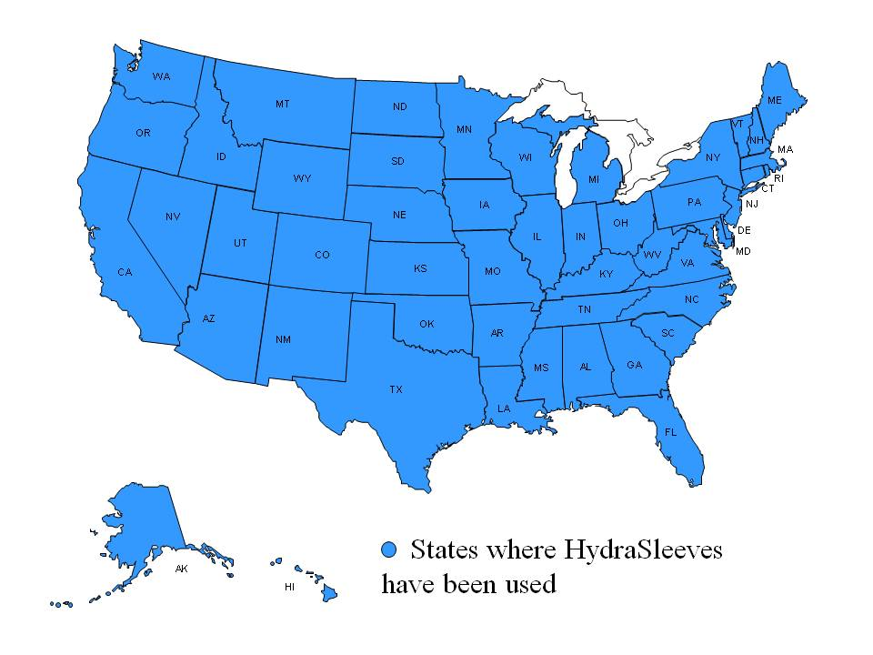 HydraSleeve Maps Update - Been there map